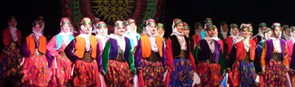 Turkis folk dance